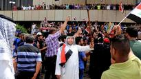 Iraqi military commander replaced after protesters stormed Green Zone