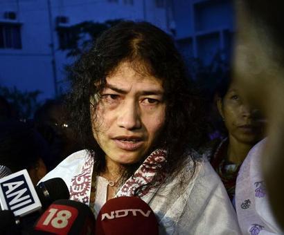 'Iron lady' Sharmila to end fast, fight Manipur polls