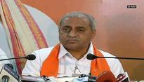 Gujarat Deputy CM says,'Congress gave 'lollipop' to Hardik Patel'