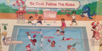 'Racist' pool safety poster prompts Red Cross apology