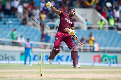 T20: Centurion Lewis makes mockery of India bowling as WI win by 9 wickets