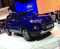 2017 Ford EcoSport facelift set for Sao Paulo motor show debut on November 8
