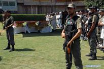 Funeral ceremony held for security personnel killed in NW Pakistan