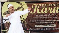 Dastangoi performer Mahmood Farooqui returns to stage with Dastan-e-Karn Az Mahabharat