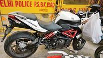 Superbike crashes into wall, kills rider
