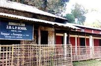 Rangapur Junior Basic LP School in a sorry state