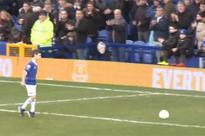 WATCH: 9-year-old beats Lennon and Barkley to win Everton's goal of the month award