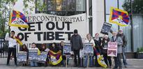 Tibet demonstration targets British Hospitality & Tourism Summit