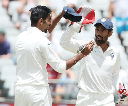 Saha surpasses Dhoni to claim new 'keeping record