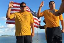 Two DLA Maritime Pearl Harbor Sailors Reenlist