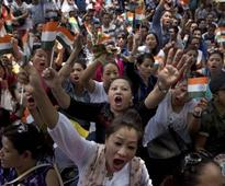Gorkhaland demand: Protesters, police clash in Darjeeling as strike enters 45th day