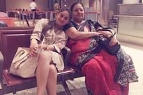 Mahhi Vij off to Dubai with mother-in-law, shares pic
