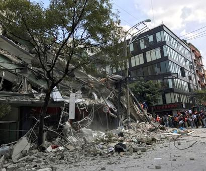 21 school kids among 248 killed by strong Mexico quake