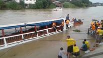 Double-decker boat capsizes in Bangkok killing at least 13