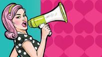 200 college girls draft a 'Girls Charter of Demands'