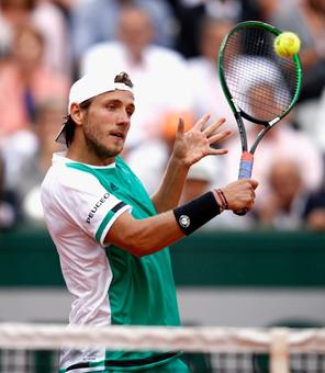Tennis round-up: Defending champ Pouille out of Hungarian Open