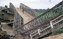 Bailey bridge collapses in Bogra