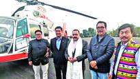 Jitendra reaches Arunachal, ahead of PM visit