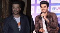 Arjun Kapoor, Anil Kapoor Dhina Dhin Dha moment gets you in instant Saturday mood