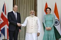 Narendra Modi hosts Prince William, Kate for musical lunch