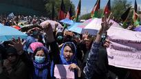 Hazara protest in Kabul after project rerouted