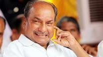 Dissensions will weaken party, Antony warns Congress leaders