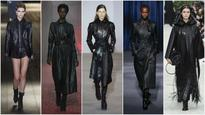 Style hunter: Black leather takes charge of Paris Fashion Week