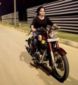 Motorcyclist Sarah Kashyap is the only Indian woman to have completed the Raid de Himalaya