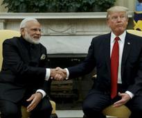 Donald Trump thanks Narendra Modi for buying US weapons, both leaders slam Pakistan