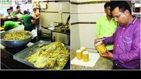 AMC collects fafda, jalebi samples ahead of Dusshera