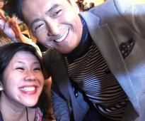 'King of Selfies' Chow Yun Fat lives up to his title at Cold War 2 news conference