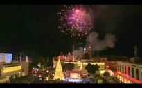Palestinians light up Christmas tree in Bethlehem (VIDEO)