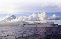US ship sails to Albay for humanitarian work