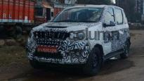 Mahindra Quanto facelift spied testing ahead of debut at Auto Expo