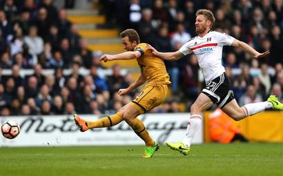 FA Cup: Kane nets hat-trick as Tottenham stroll past Fulham