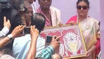 Nepal President offers prayers at Jagannath Temple, assures to help in Kasturi crisis