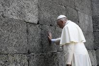 Francis becomes first non-European pontiff to visit Auschwitz death camp