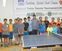 Surabhi and Alina advance to under-13 girls final