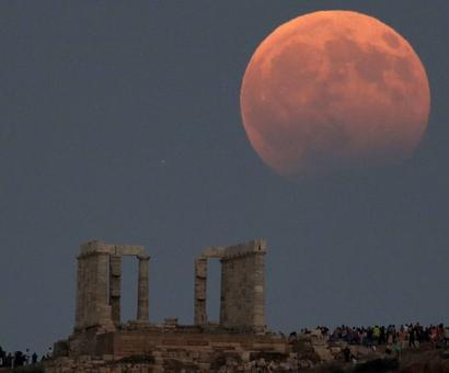 PHOTOS: When Earth cast a shadow over the moon