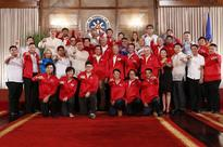Duterte dares Filipino Olympians: Give all for PH