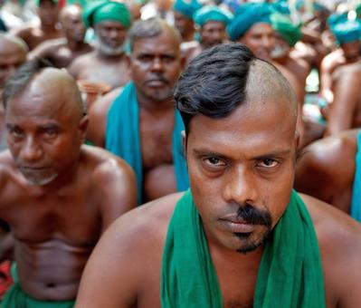 Tamil Nadu farmers detained outside PM's residence