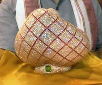 Couple offers diamond-studded crown worth Rs 1 crore to Lord Tirupati