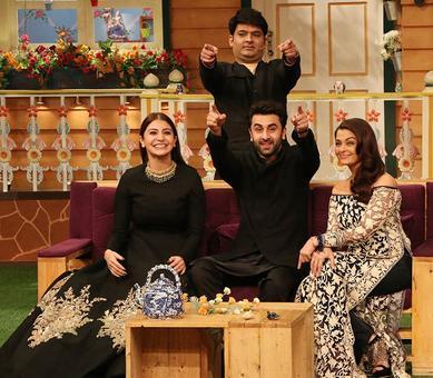 Aishwarya, Anushka, Ranbir promote Ae Dil Hai Mushkil