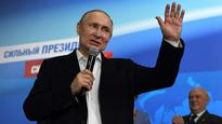 After landslide re-election, Russia's Vladimir Putin tells West: 'I don't want arms race'
