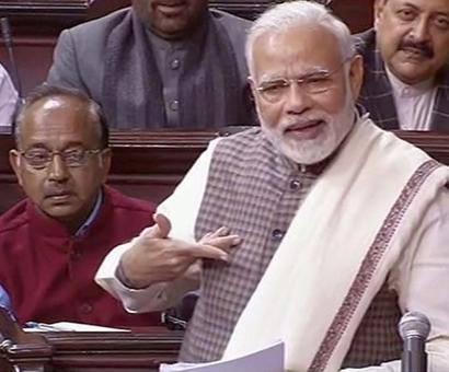 From Emergency to bad loans, PM Modi rips Congress in Parliament