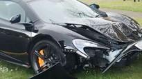 $417,000 car crashed minutes after delivery