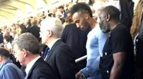 Pierre-Emerick Aubameyang was at Real Madrid UCL win amidst Dortmund exit reports [Picture]