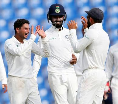 3rd Test: India in control as Sri Lanka stare at another defeat