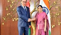 Swaraj meets Afghan Defence Minister, discusses counter-terrorism