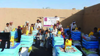 QC continues relief projects for displaced Yem...